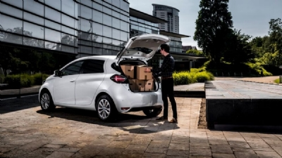 New EV  Zoe Commercial Van