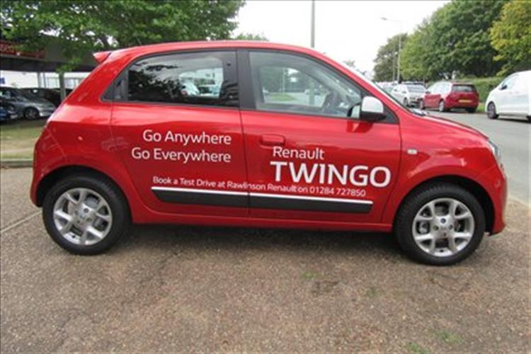 RENAULT Twingo Hatchback 5-Door 1.0 SCe (70bhp) The Color Run ...