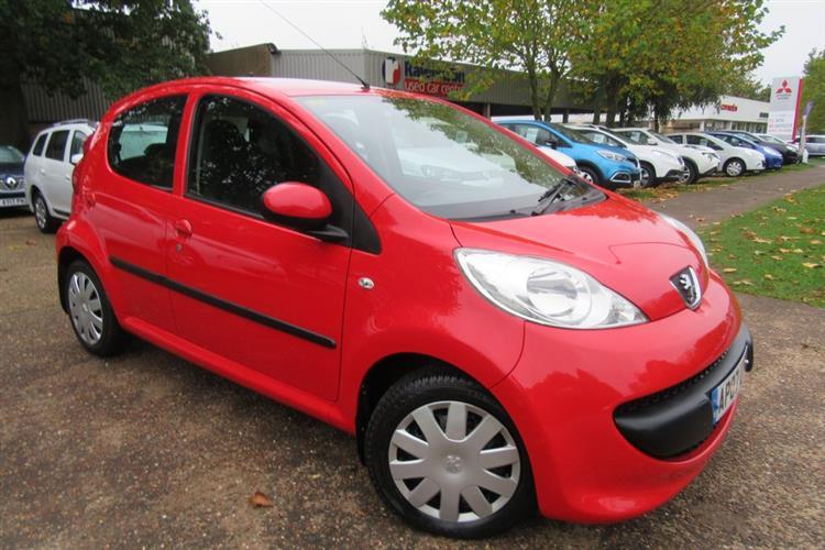 peugeot 107 5 door hatchback 1.0 12v urban 2-tronic for sale at