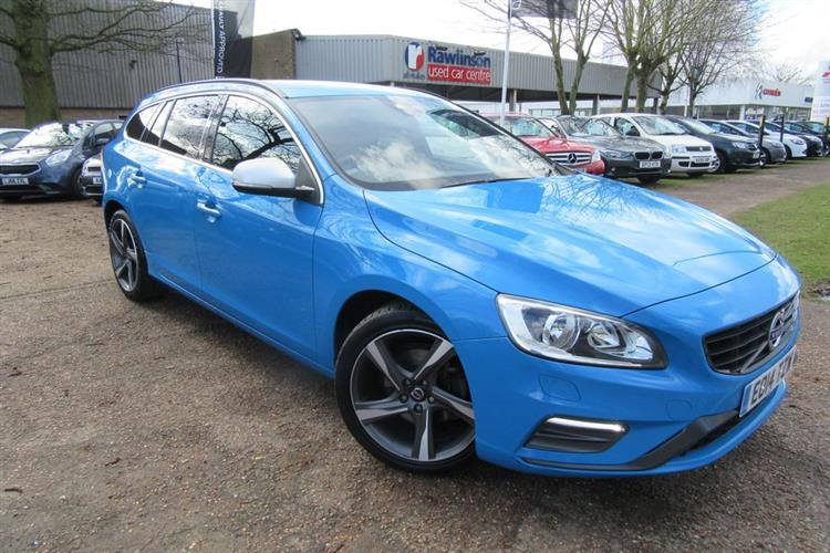 VOLVO V60 Estate 5-Door 2.0D D4 (181bhp) R-Design Nav (S/S) for sale at Rawlinson Group, used ...