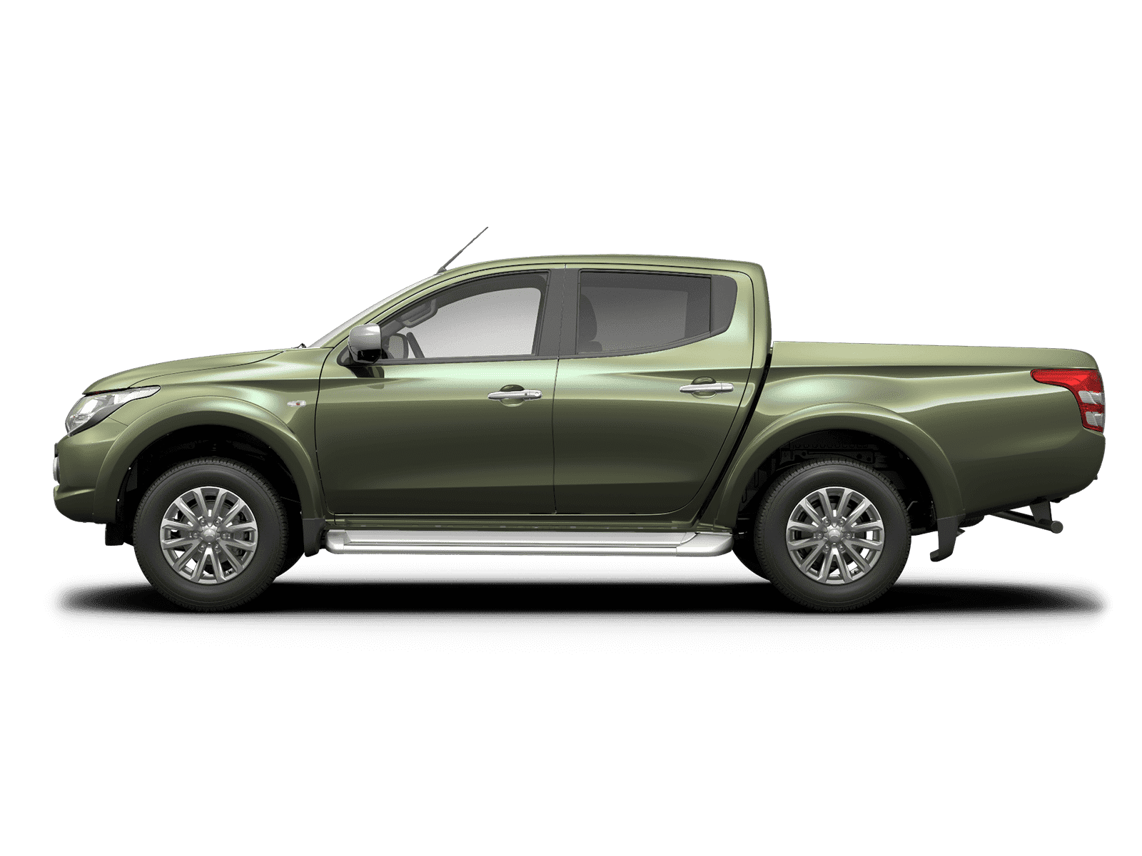 Mitsubishi L200 Double Cab Range Amazon Green