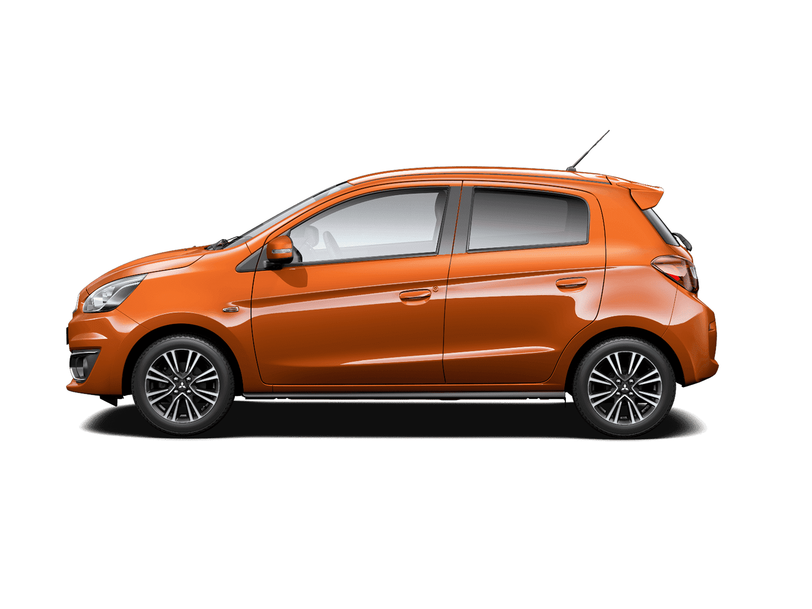 Mitsubishi Mirage Copper Bronze