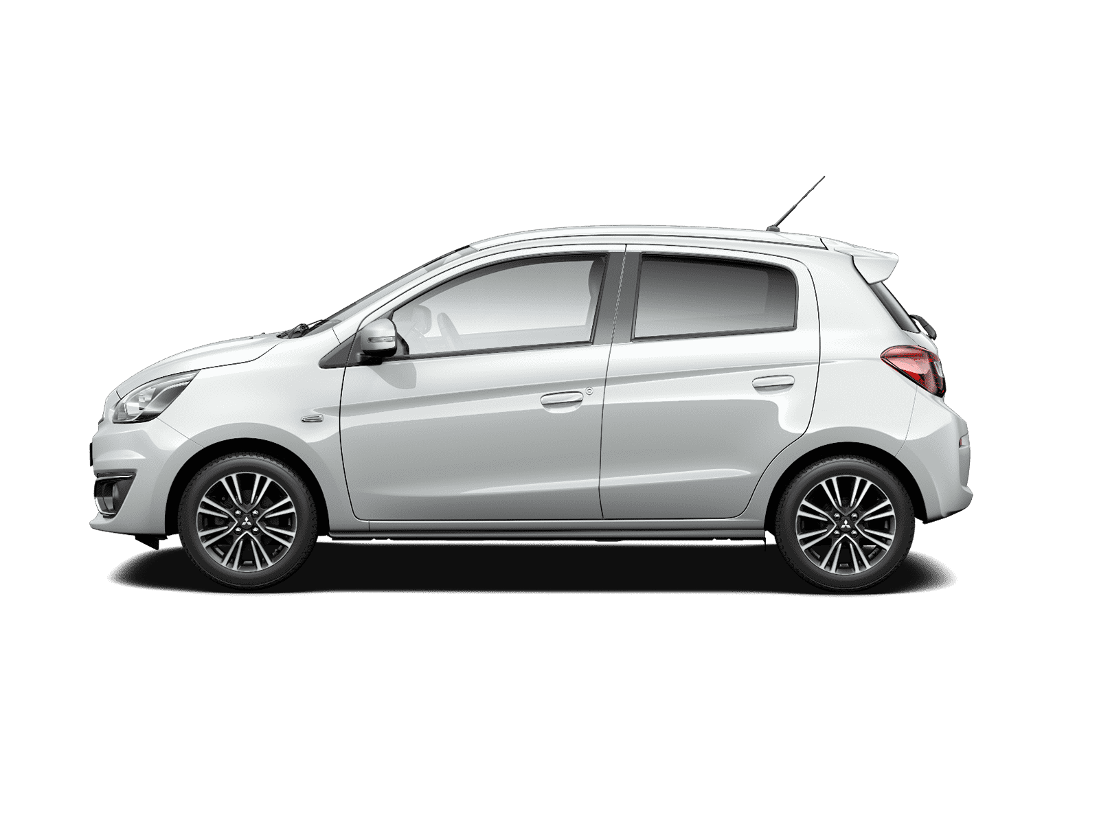 Mitsubishi Mirage Polar White