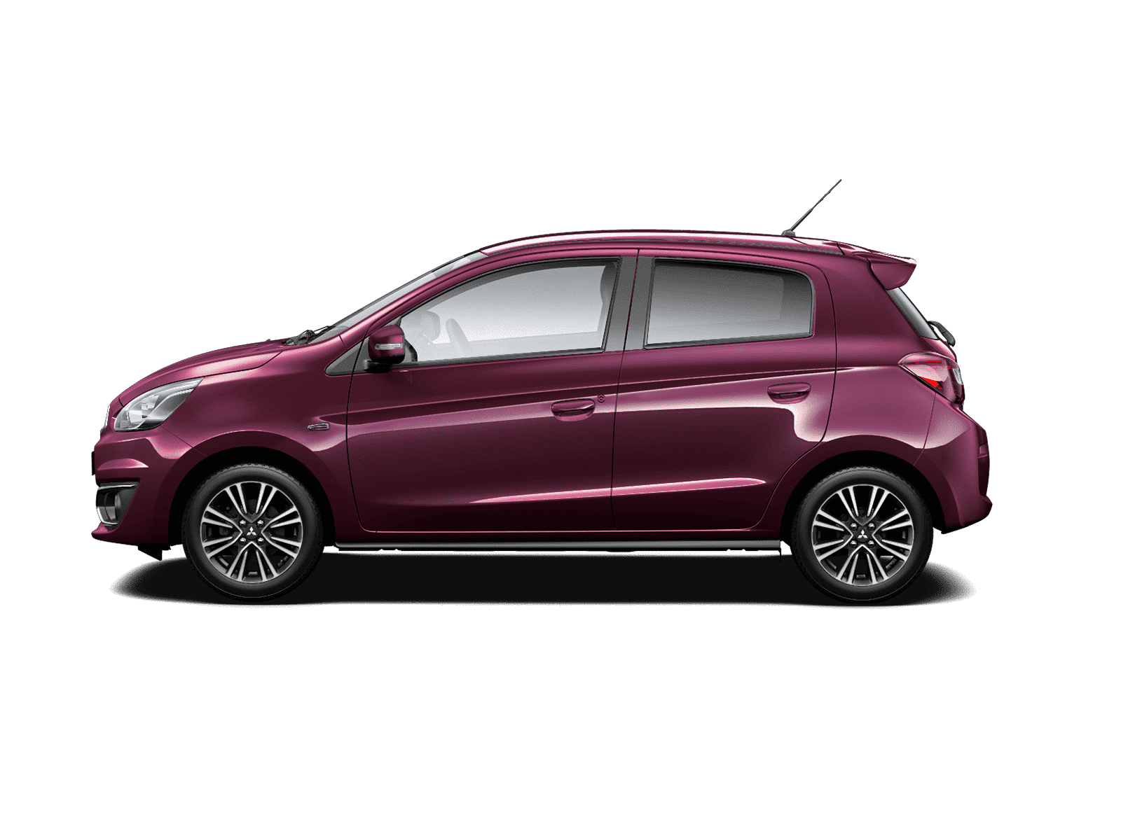 Mitsubishi Mirage Purple Berry
