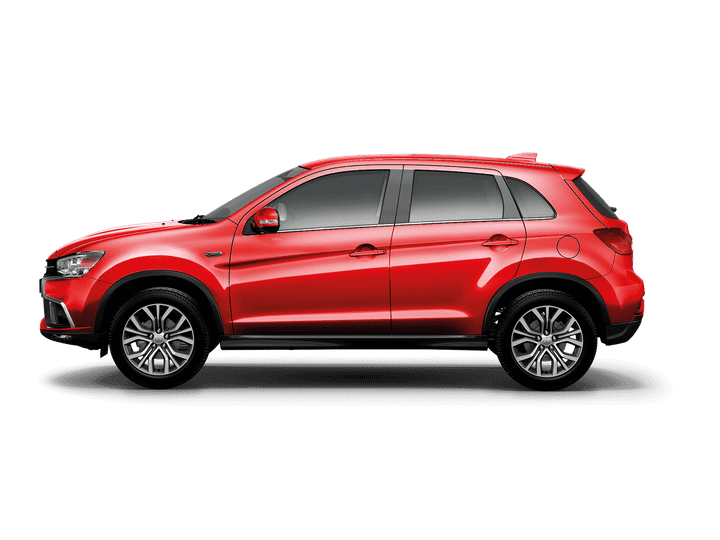 Mitsubishi Outlander PHEV Automatic Hybrid Orient Red