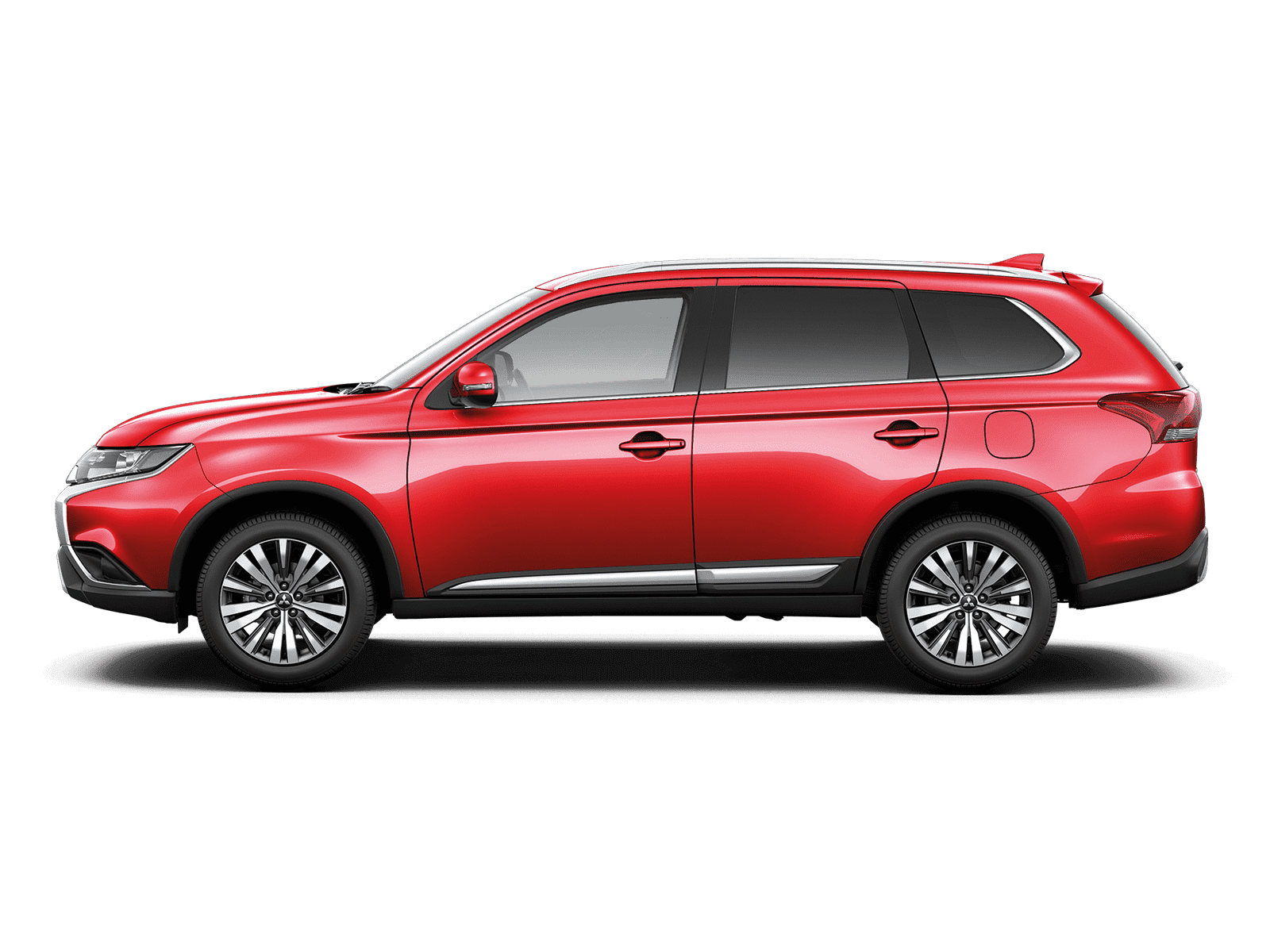 Mitsubishi Outlander Petrol CVT Automatic Orient Red