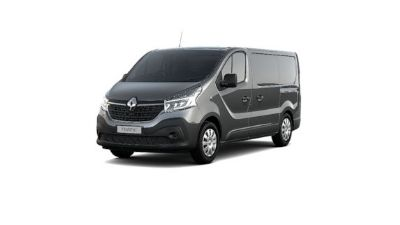 Renault New Trafic Van Oyster Grey