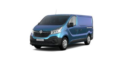 Renault New Trafic Van Panorama Blue