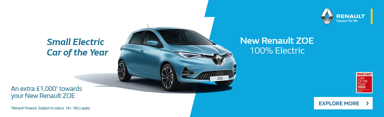 New Renault All New ZOE