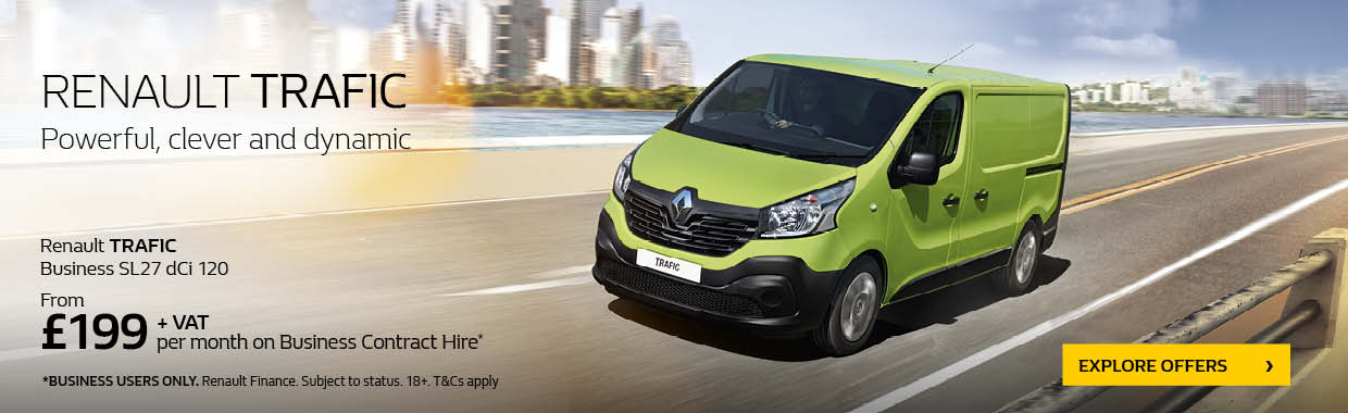 New Renault TRAFIC