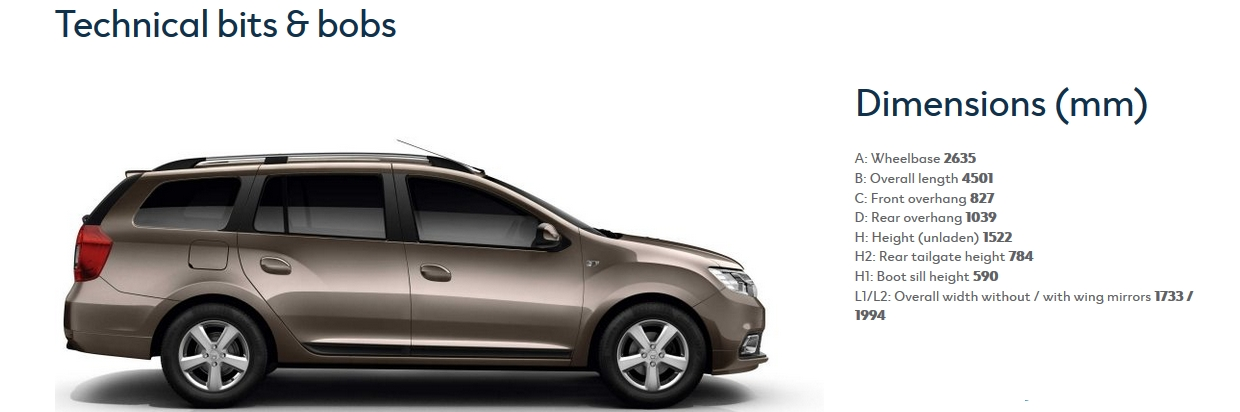 New Dacia Logan MCV