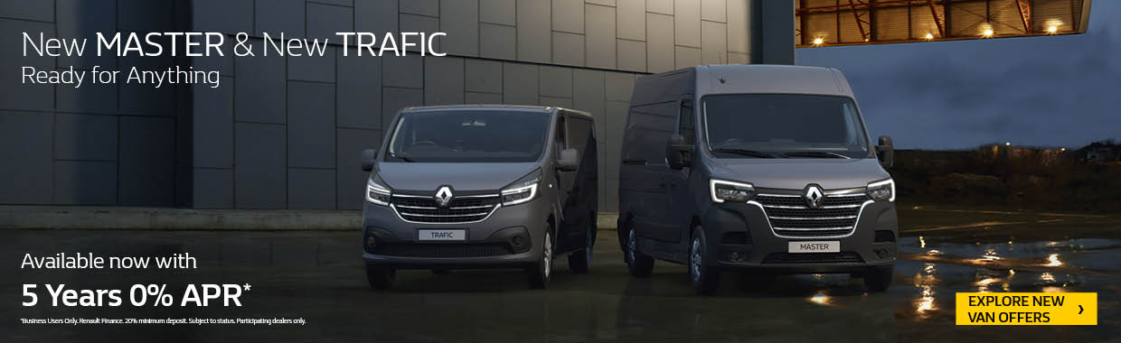 New Renault All New Master offer
