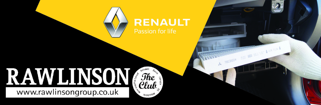 Renault Cabin Filter Replacement from £59*