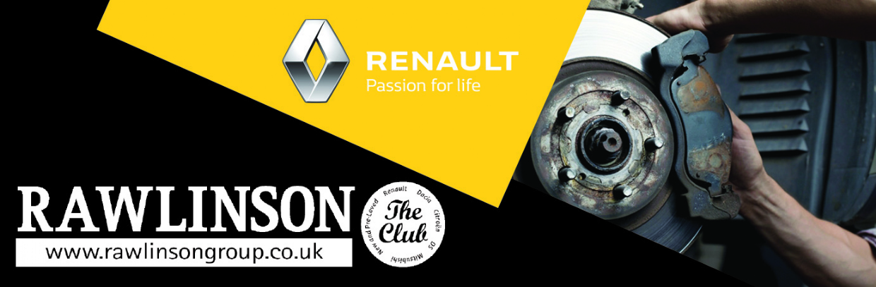 Renault Rear Disc and Pad Replacement From £311*