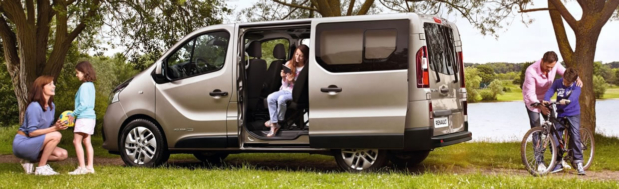 New Renault TRAFIC PASSENGER offer