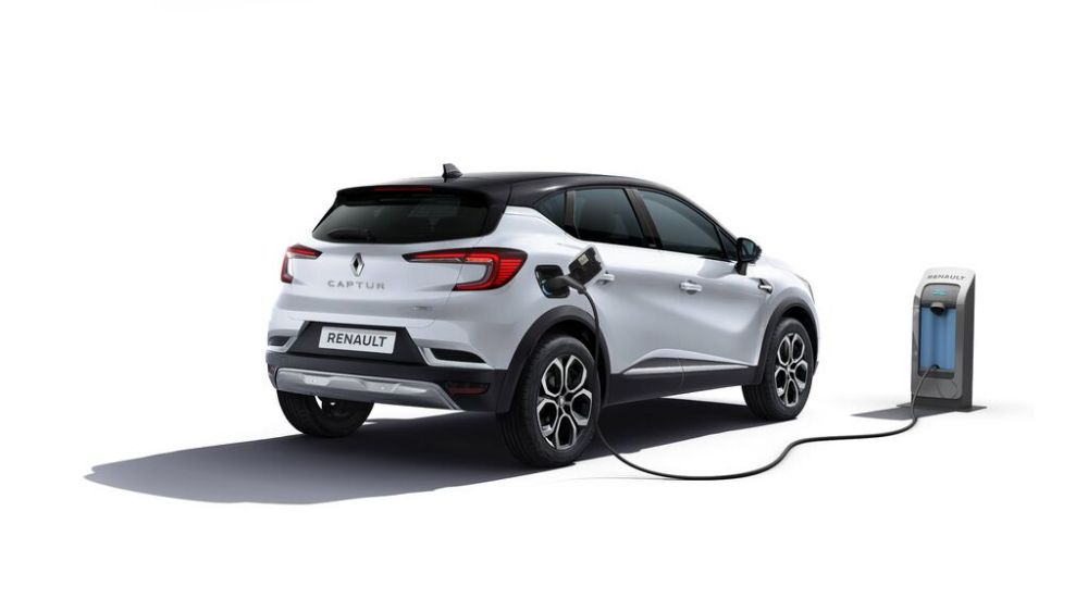 New Reanult Captur Hybrid