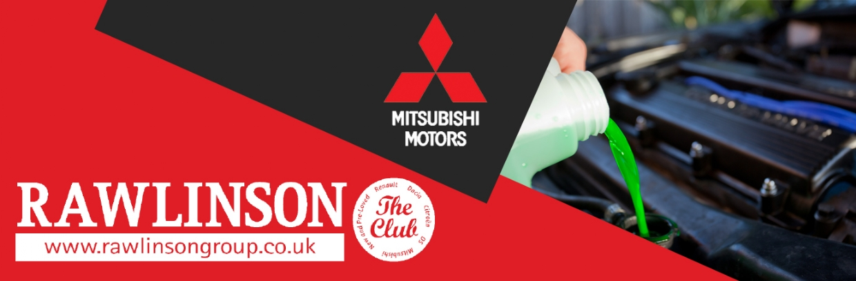 Mitsubishi Engine Coolant Change £114*