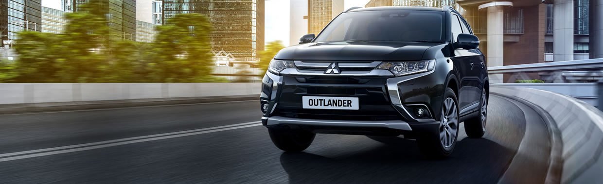 New Mitsubishi Outlander Petrol 2.4 PHEV Juro Commerical Auto offer