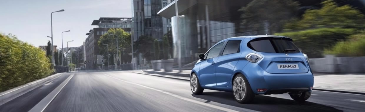 New Renault Zoe offer